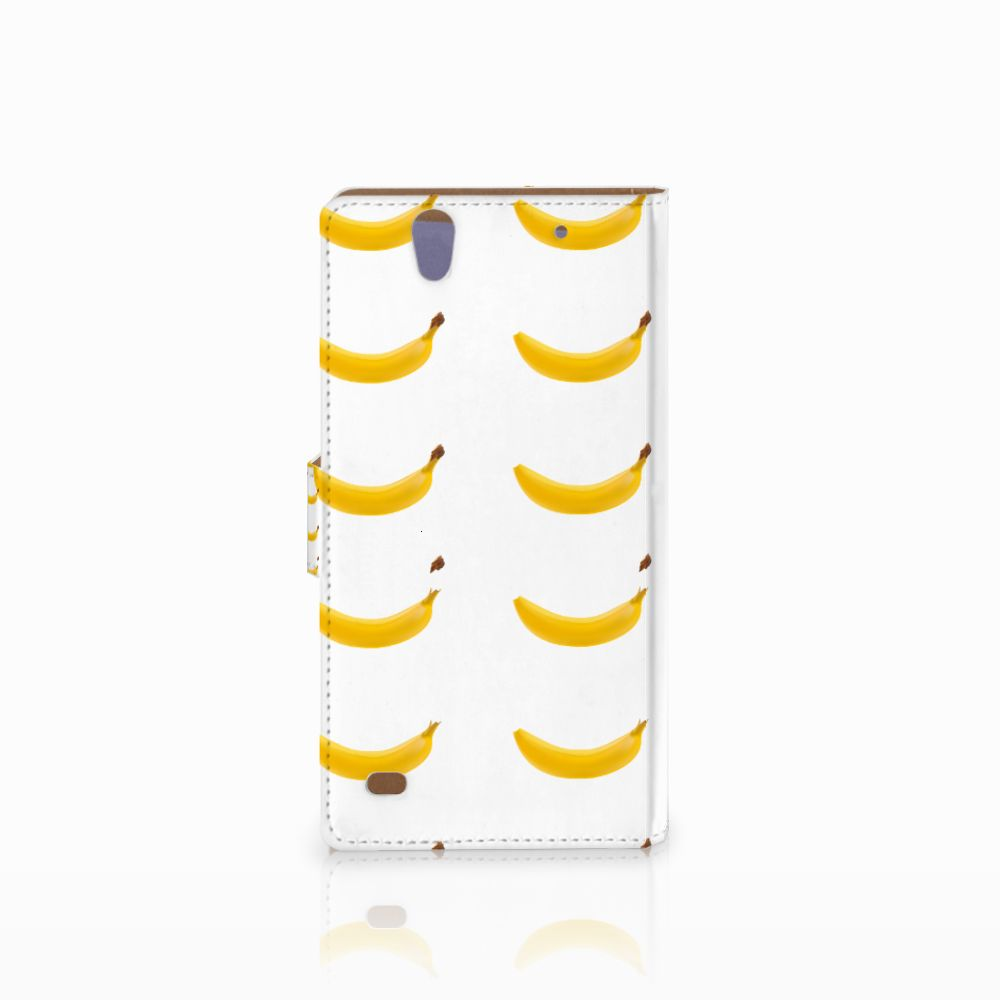Sony Xperia C4 Book Cover Banana