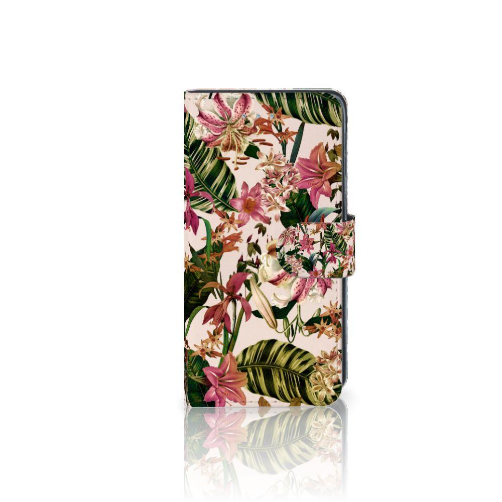 Samsung Galaxy J3 2016 Uniek Boekhoesje Flowers