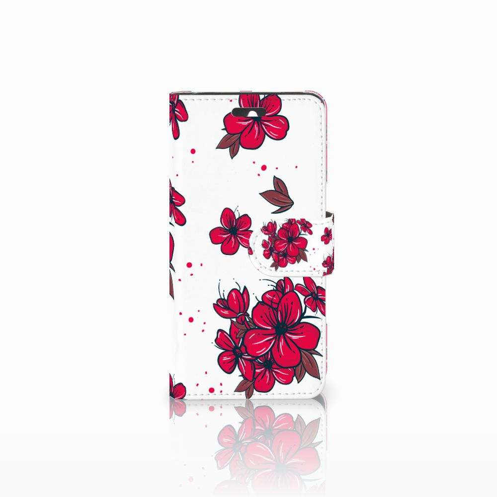 Huawei Ascend Y550 Boekhoesje Design Blossom Red