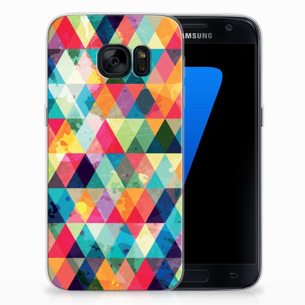 Samsung Galaxy S7 TPU bumper Geruit