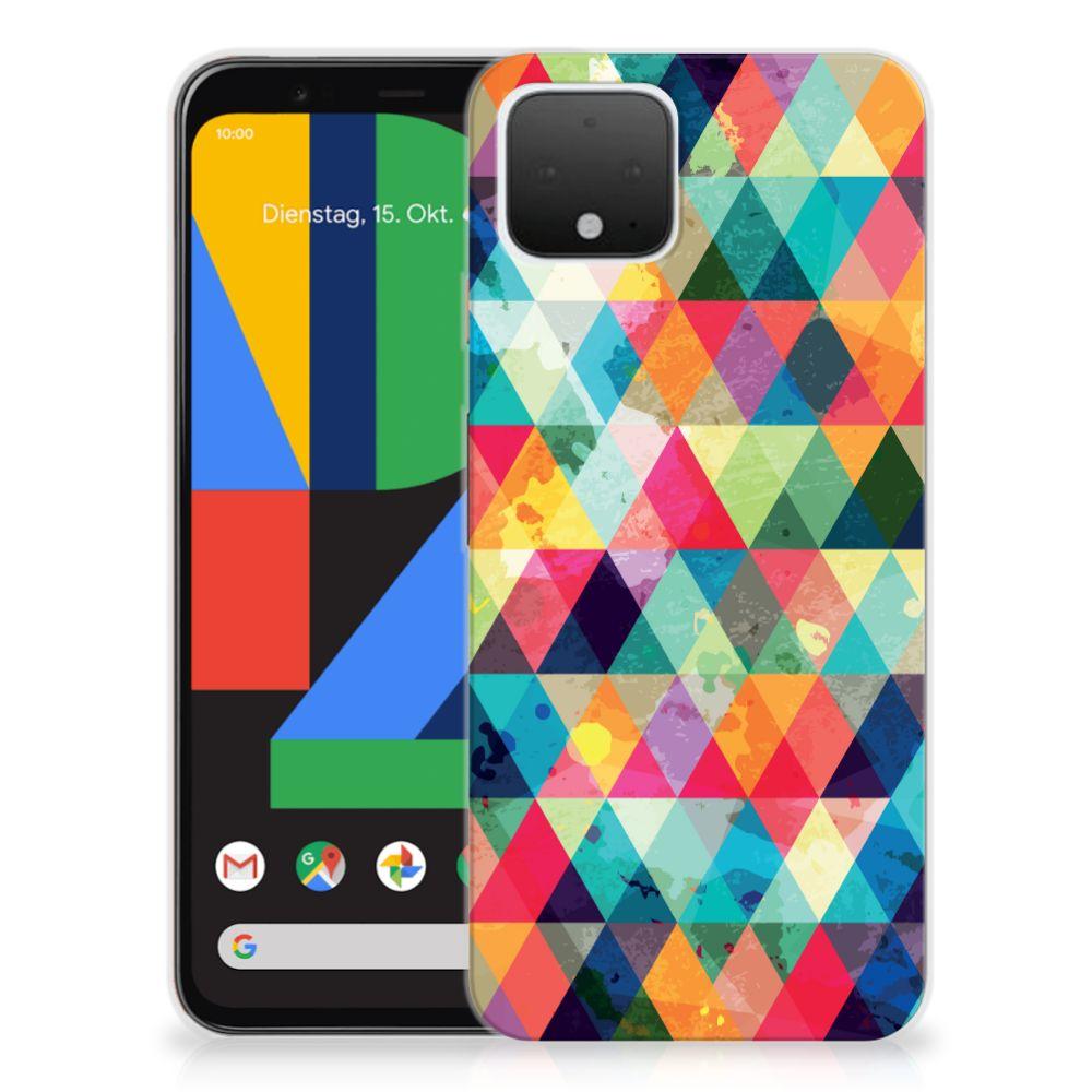 Google Pixel 4 TPU bumper Geruit