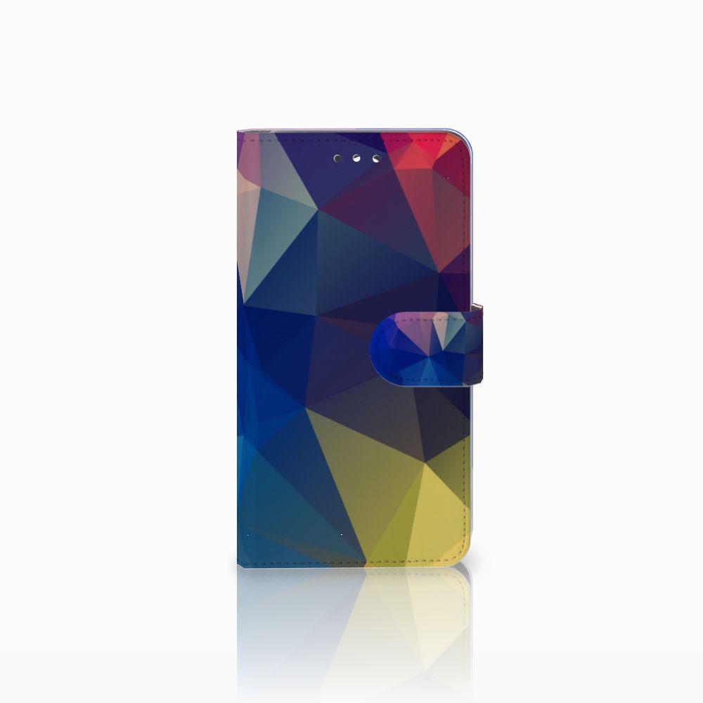 Huawei Y7 2017 | Y7 Prime 2017 Uniek Boekhoesje Polygon Dark