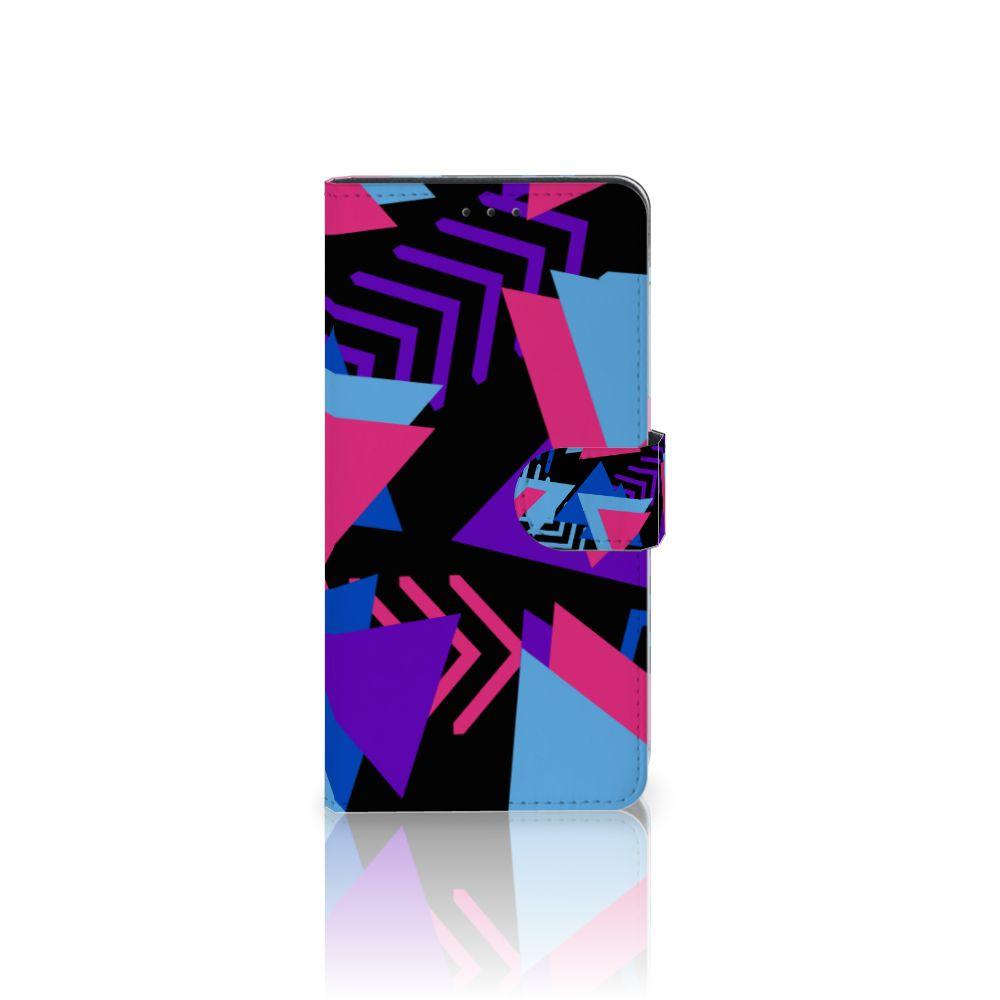 Samsung Galaxy A7 (2018) Boekhoesje Design Funky Triangle