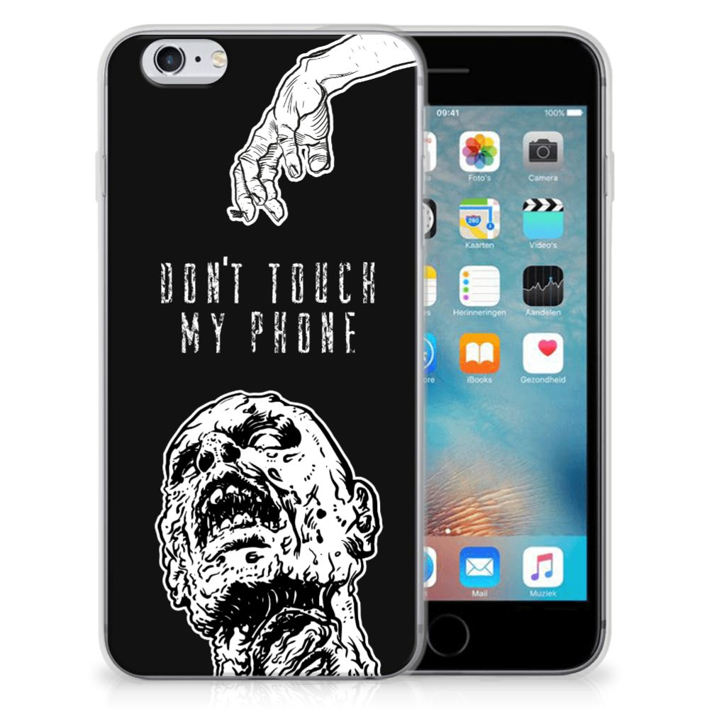 Silicone-hoesje Apple iPhone 6 | 6s Zombie
