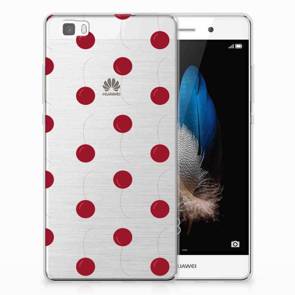 Huawei Ascend P8 Lite TPU Hoesje Design Cherries