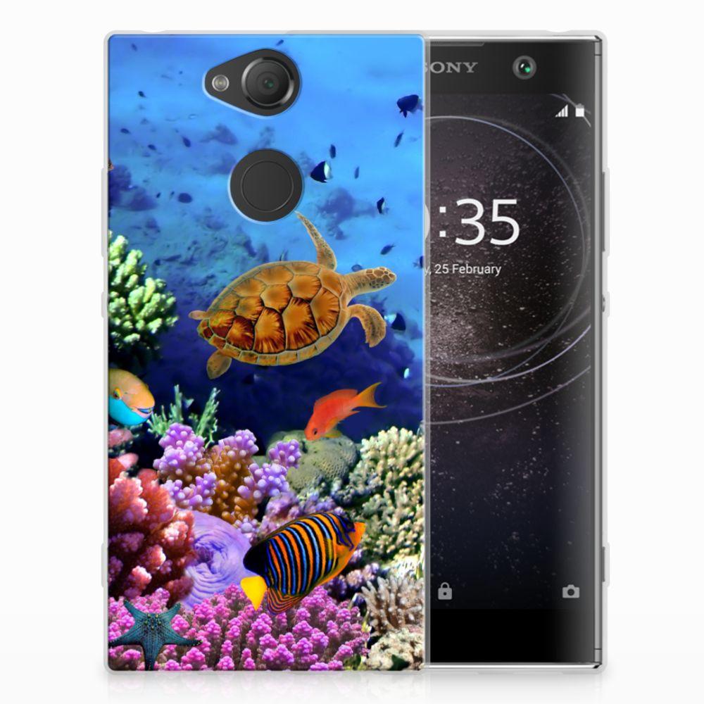 Sony Xperia XA2 TPU Hoesje Design Vissen