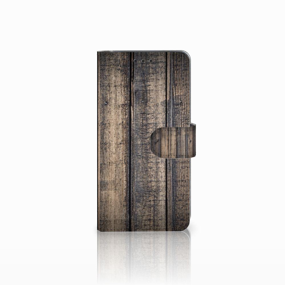 Samsung Galaxy A8 2018 Boekhoesje Design Steigerhout