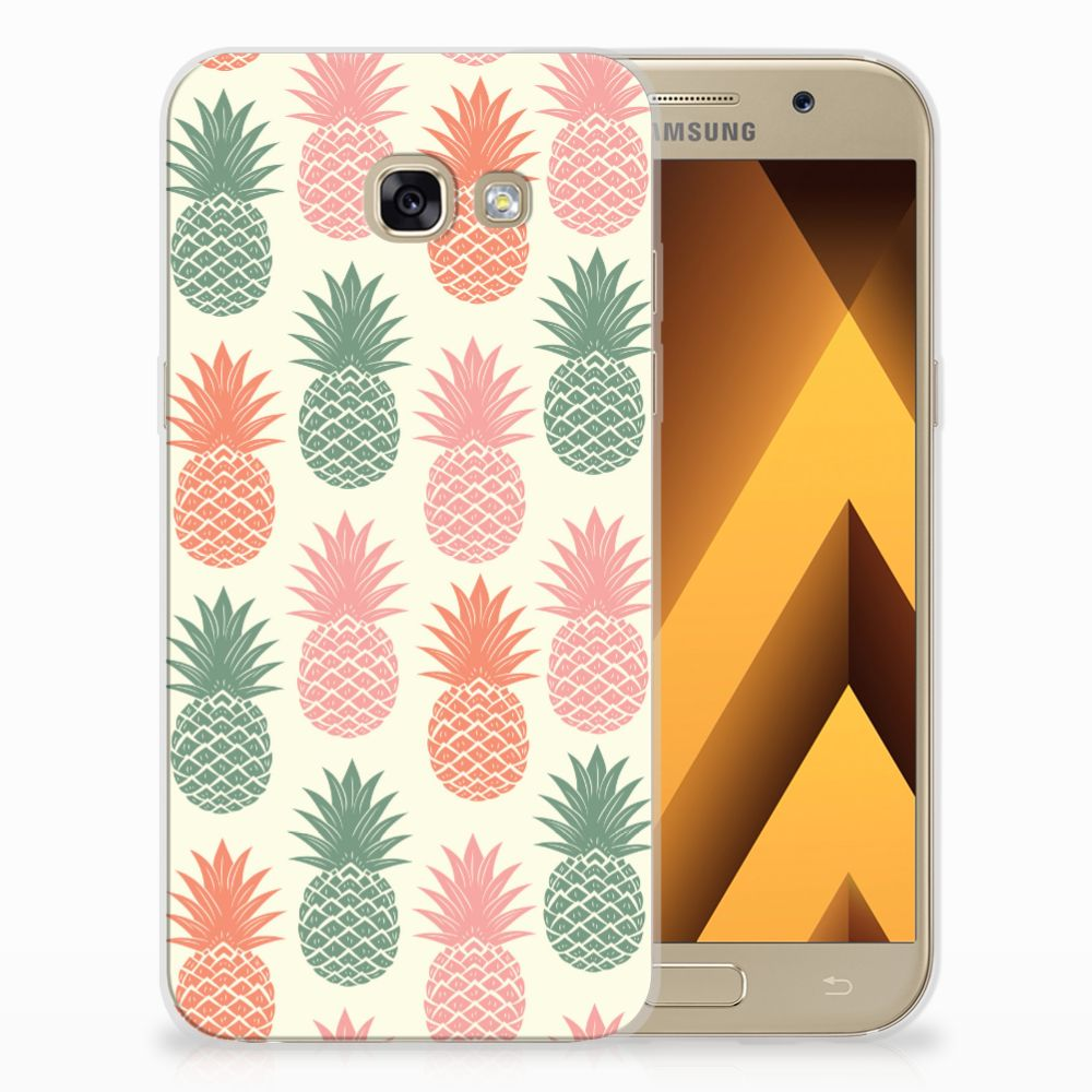Samsung Galaxy A5 2017 TPU Hoesje Design Ananas
