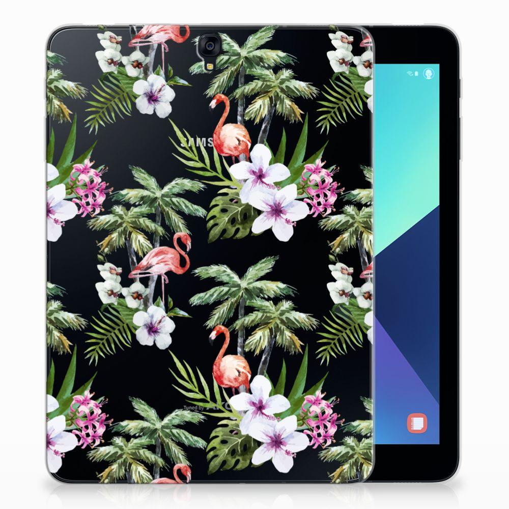 Samsung Galaxy Tab S3 9.7 Back Case Flamingo Palms