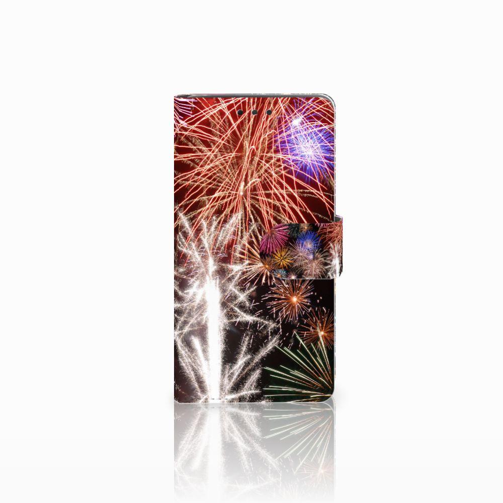 LG Bello 2 Boekhoesje Design Vuurwerk