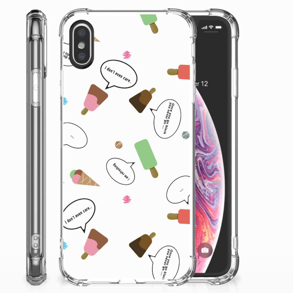 Apple iPhone X | Xs Beschermhoes IJsjes