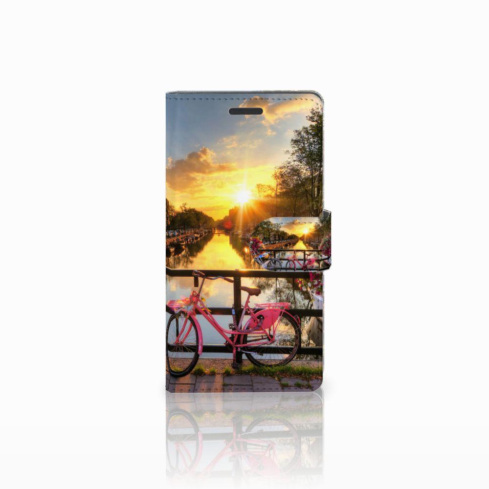 Nokia Lumia 830 Uniek Boekhoesje Amsterdamse Grachten