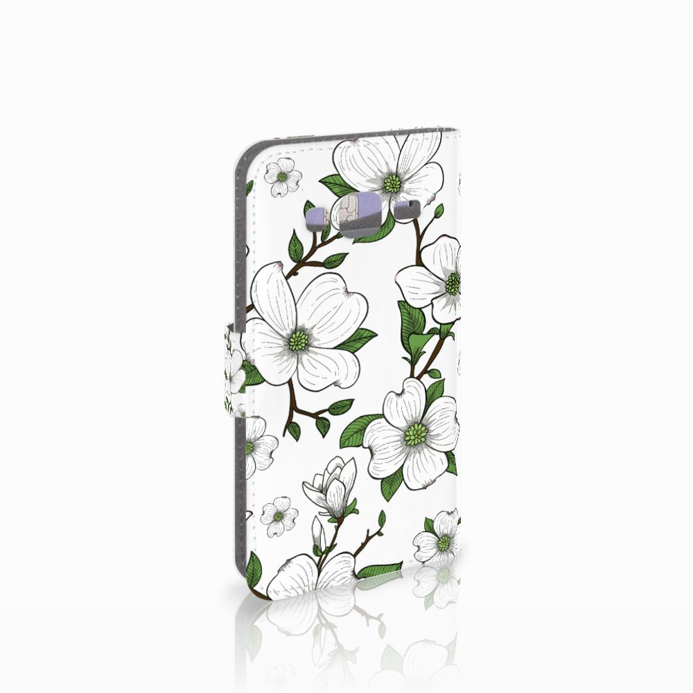 Samsung Galaxy J3 2016 Boekhoesje Design Dogwood Flowers