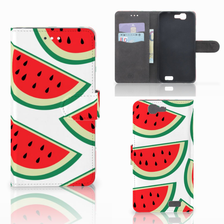 Huawei Ascend G7 Book Cover Watermelons