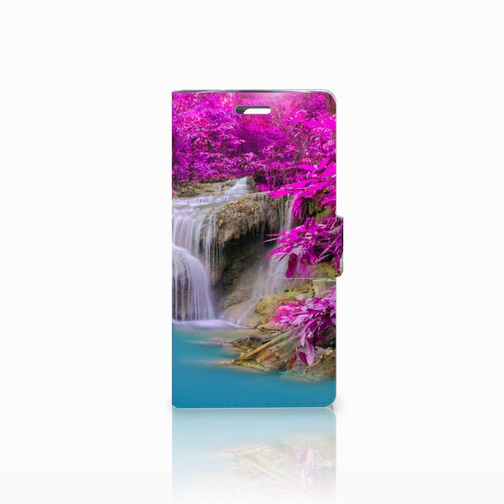 LG K10 2015 Uniek Boekhoesje Waterval