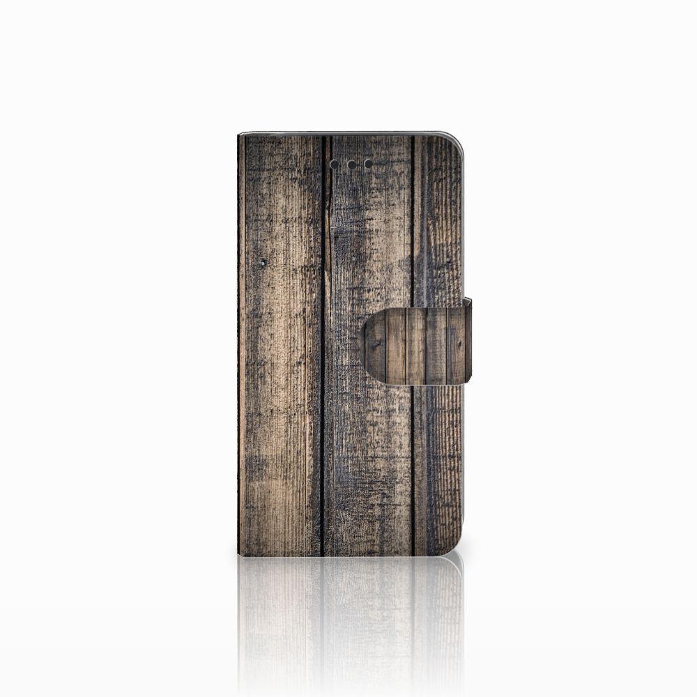 Samsung Galaxy J2 Pro 2018 Boekhoesje Design Steigerhout