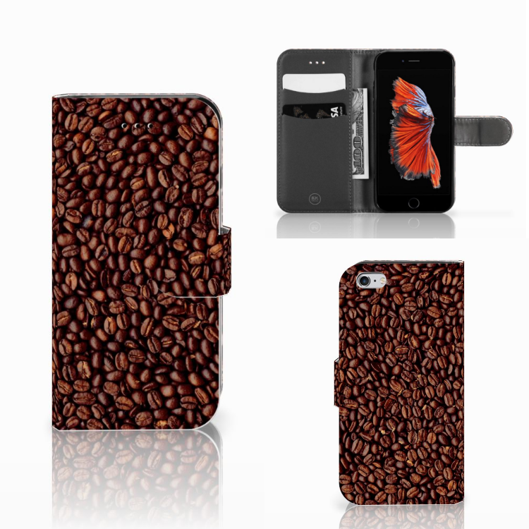 Apple iPhone 6 | 6s Book Cover Koffiebonen
