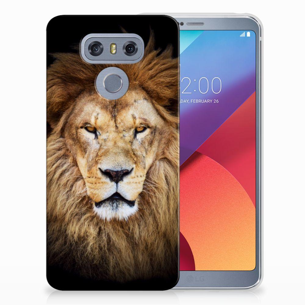 LG G6 TPU Hoesje Design Leeuw