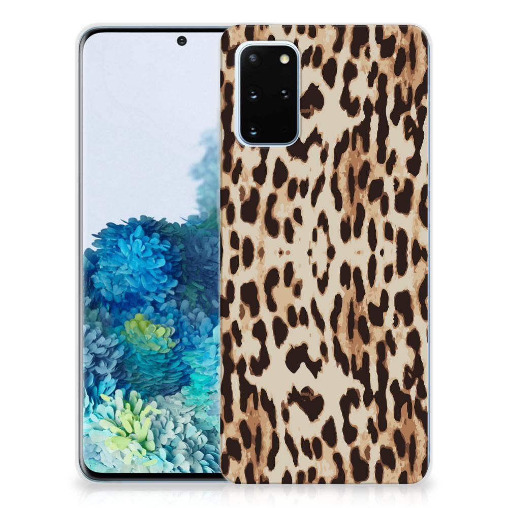 Samsung Galaxy S20 Plus TPU Hoesje Leopard