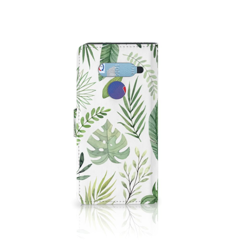 LG V40 Thinq Hoesje Leaves