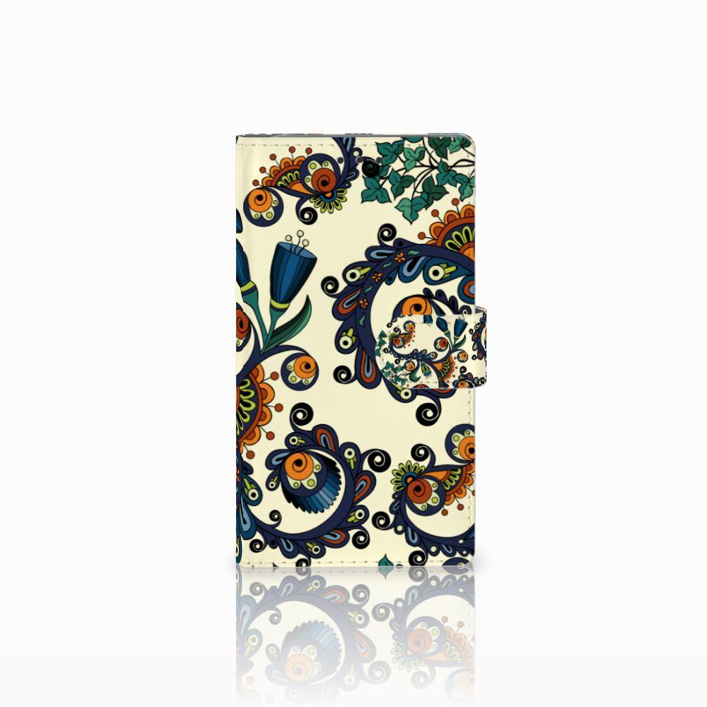 Samsung Galaxy Note 3 Boekhoesje Design Barok Flower
