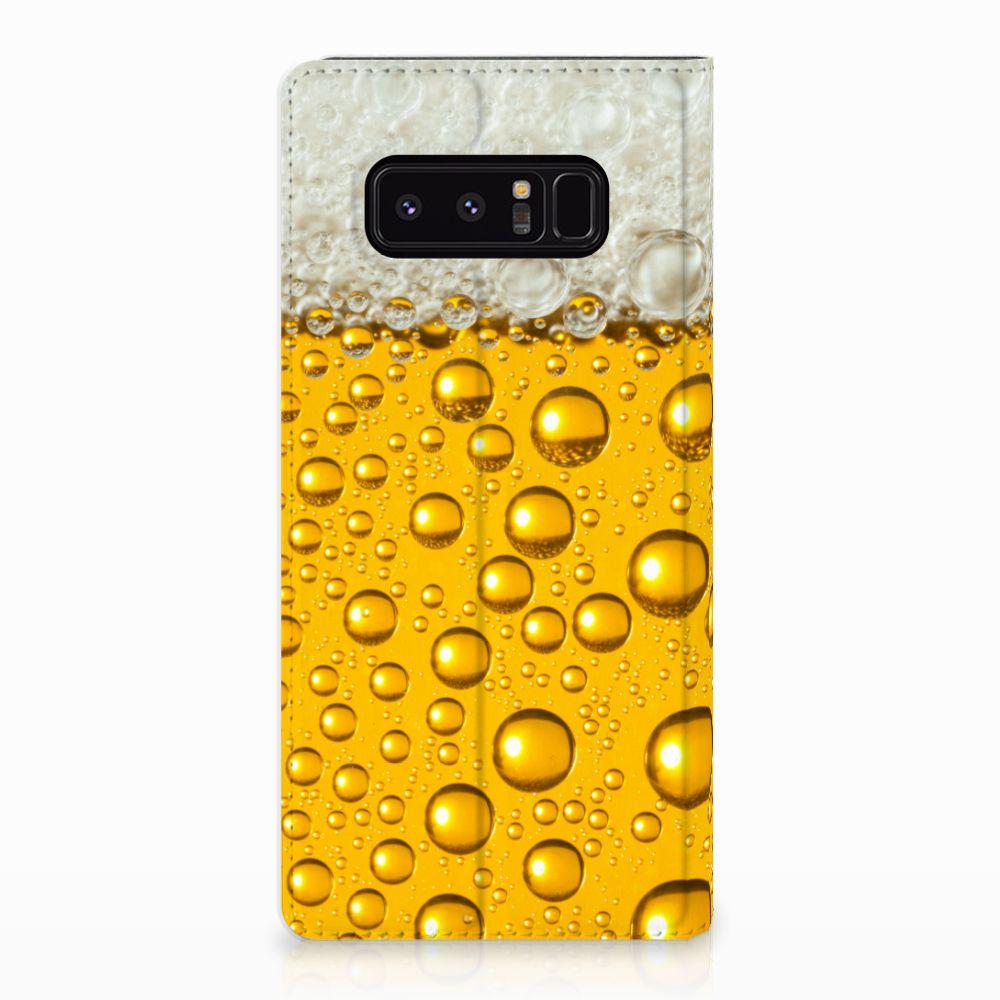 Samsung Galaxy Note 8 Uniek Standcase Hoesje Bier