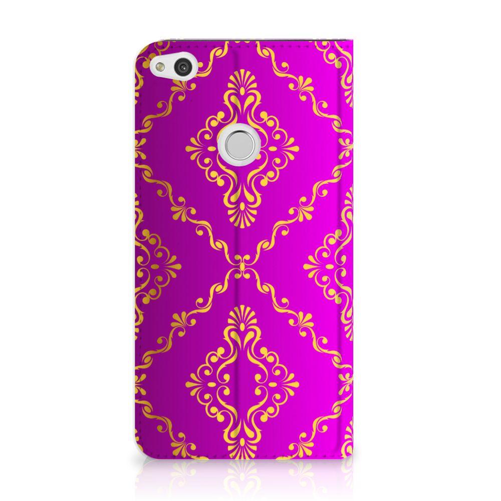 Telefoon Hoesje Huawei P8 Lite 2017 Barok Roze