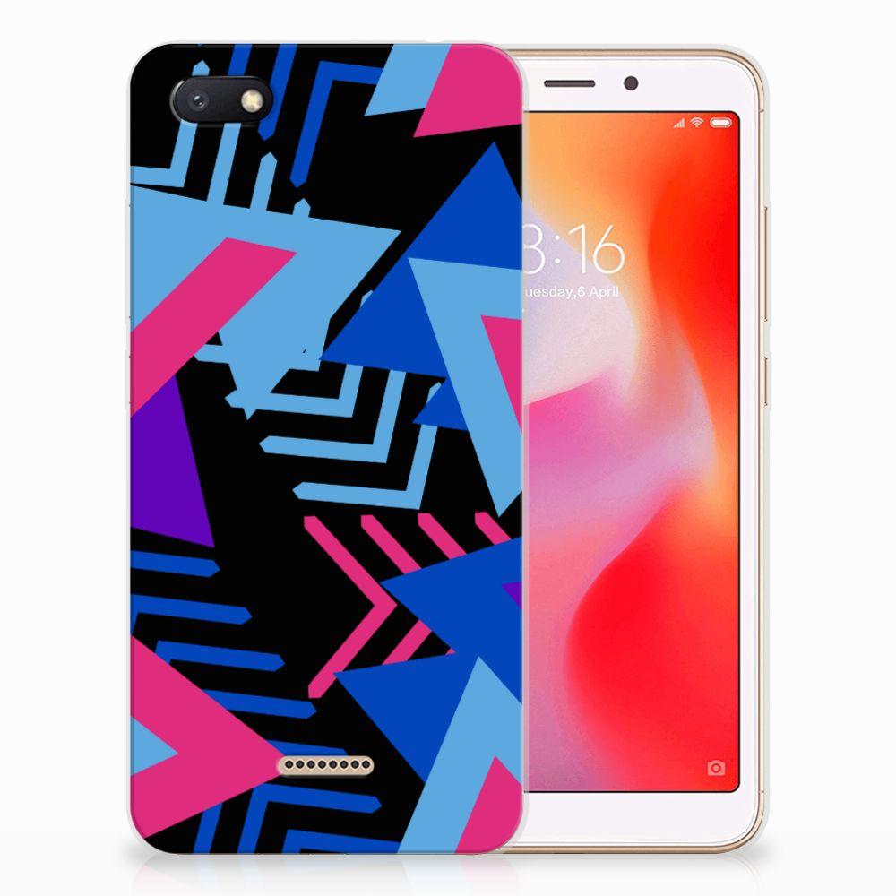 Xiaomi Redmi 6A TPU Hoesje Funky Triangle