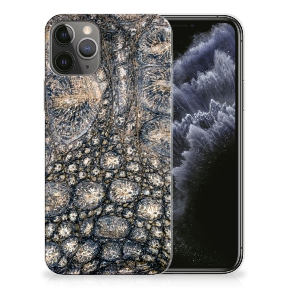 Apple iPhone 11 Pro TPU Hoesje Krokodillenprint
