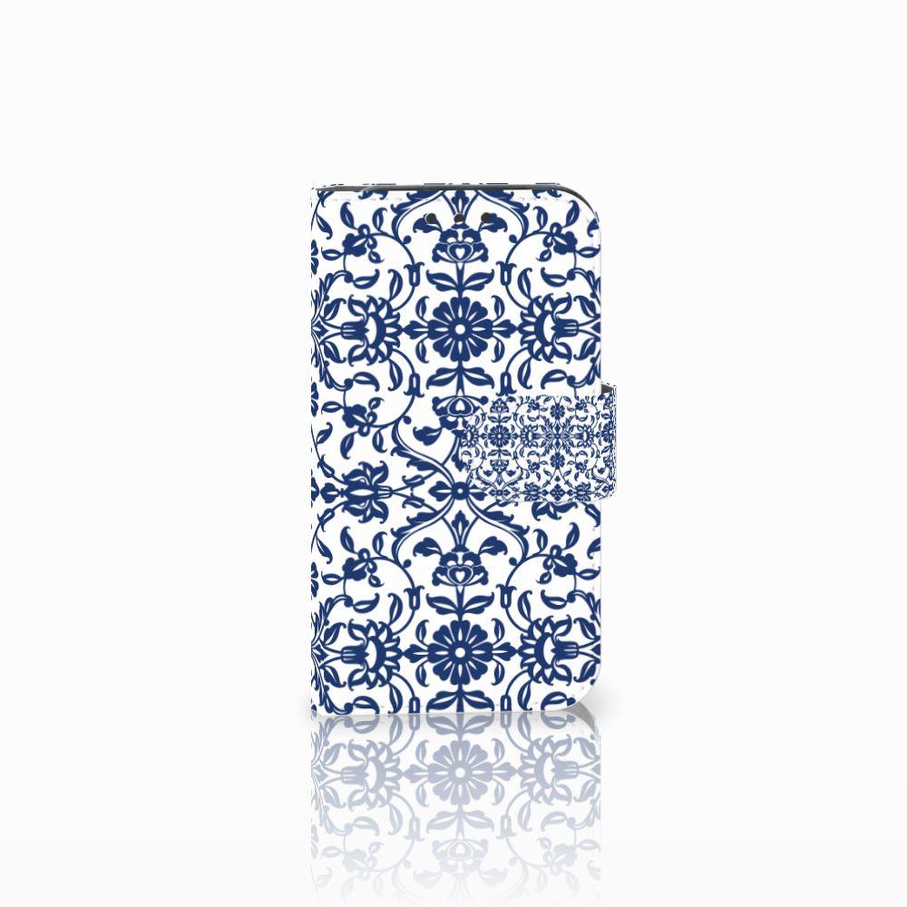 Lenovo B Uniek Boekhoesje Flower Blue