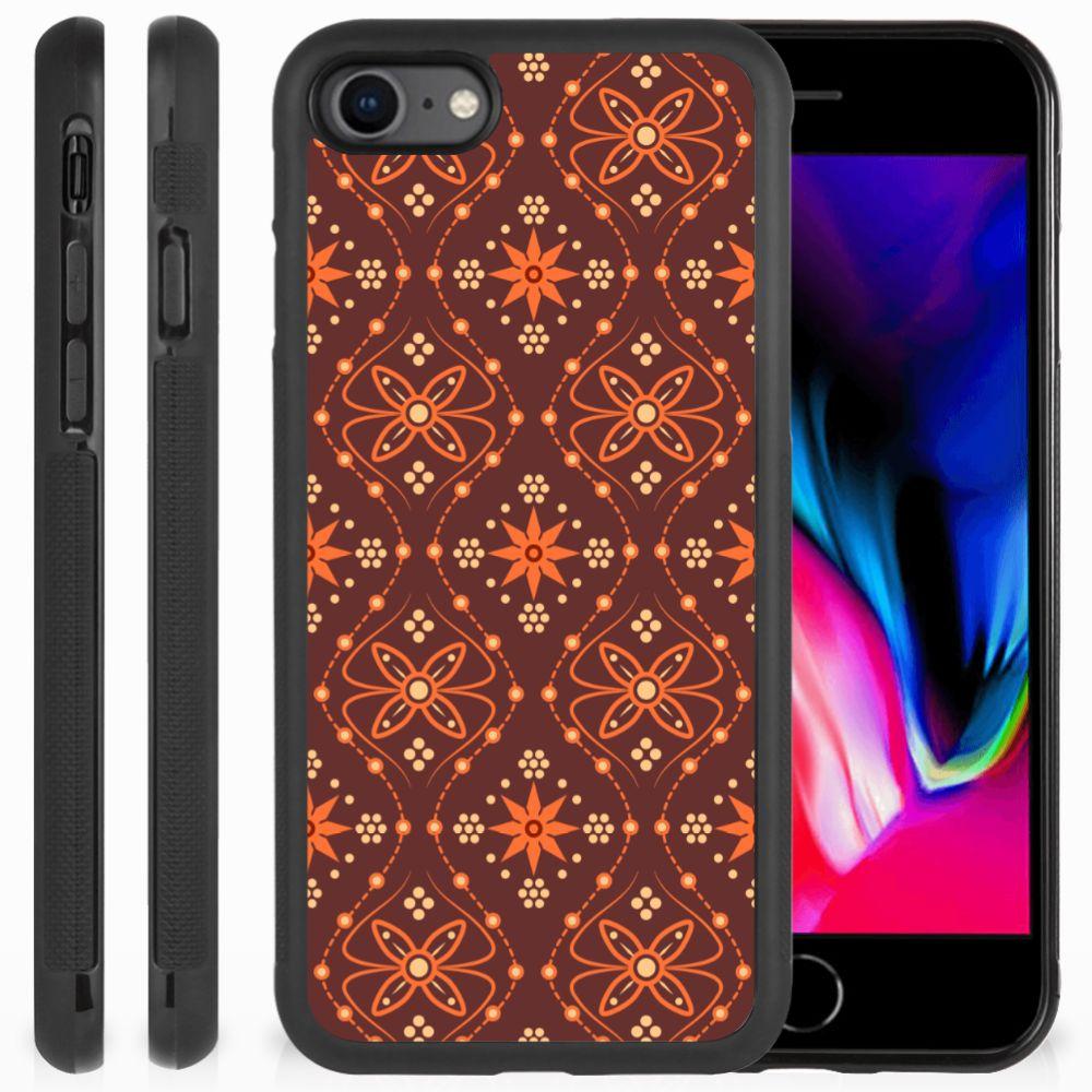 Apple iPhone 7 | 8 Bumper Case Batik Brown