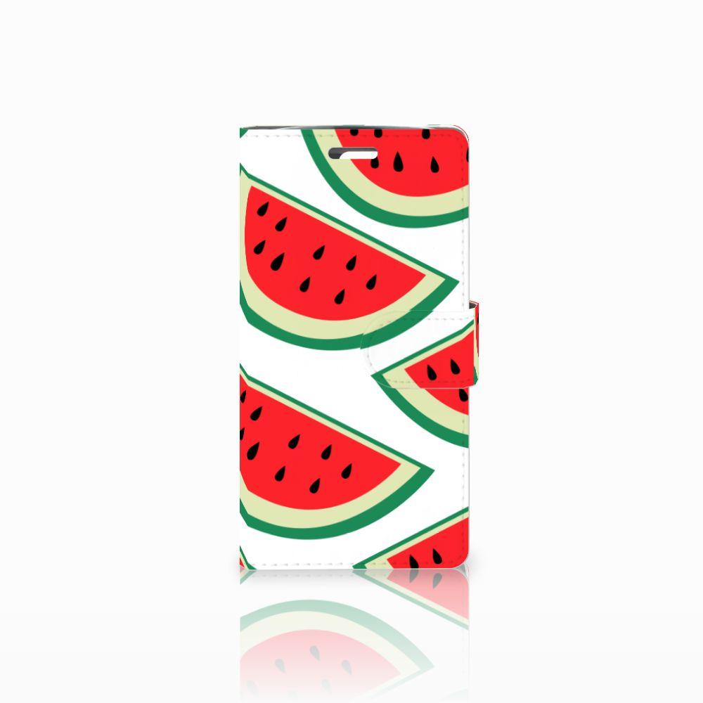 LG K10 2015 Uniek Boekhoesje Watermelons