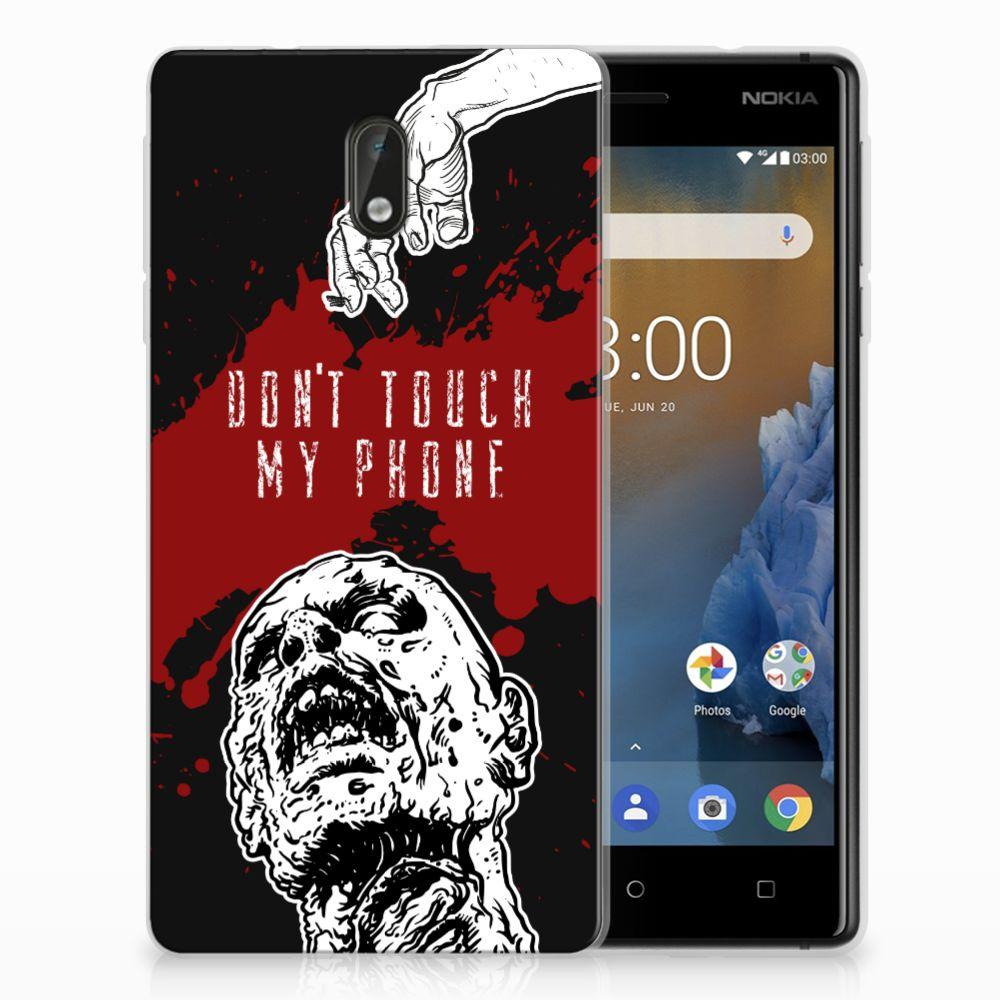 Nokia 3 TPU Hoesje Design Zombie Blood