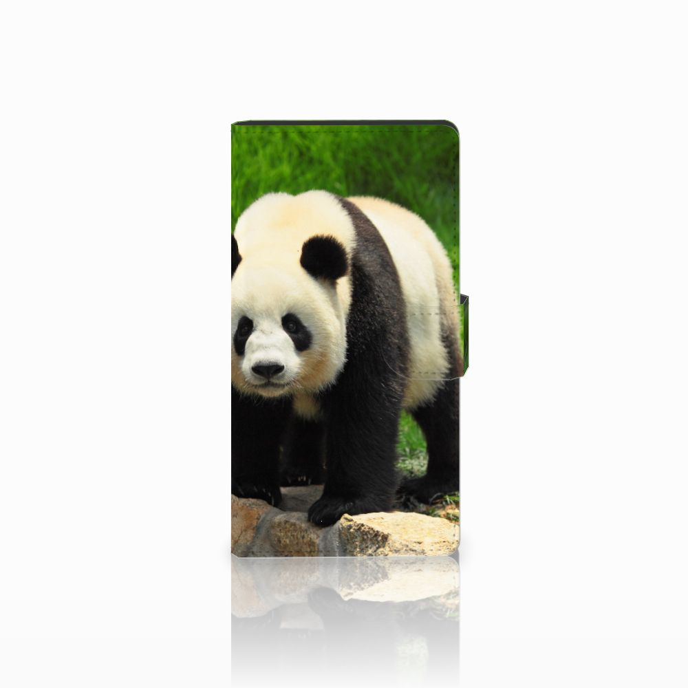 Sony Xperia C4 Telefoonhoesje met Pasjes Panda
