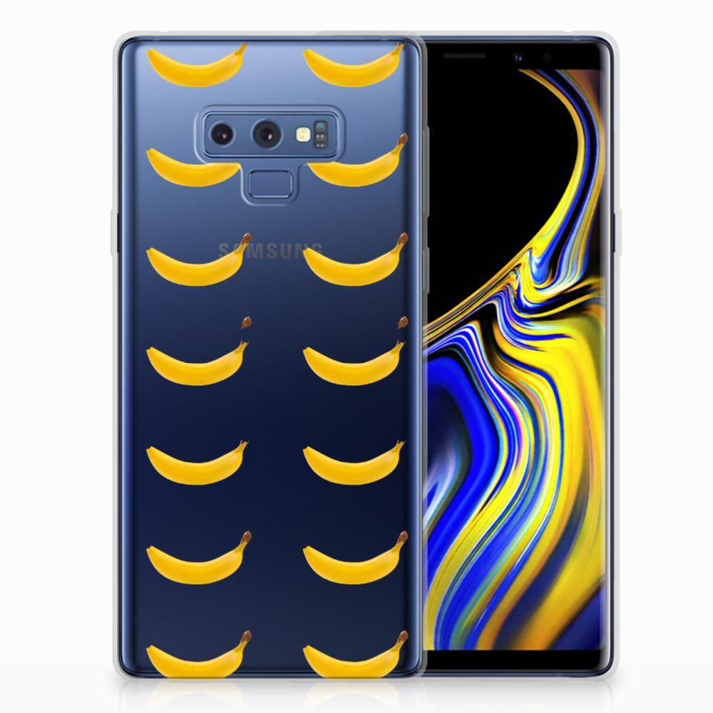 Samsung Galaxy Note 9 Siliconen Case Banana
