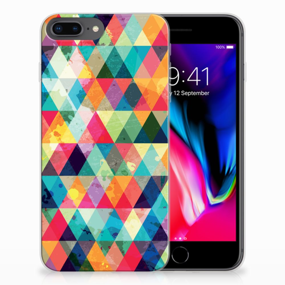 Apple iPhone 7 Plus | 8 Plus TPU bumper Geruit