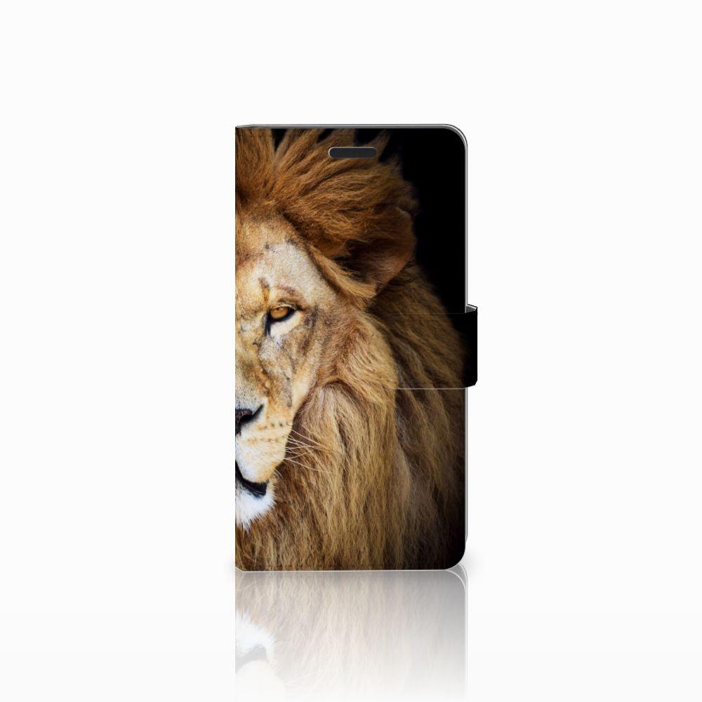 Samsung Galaxy A7 2015 Boekhoesje Design Leeuw