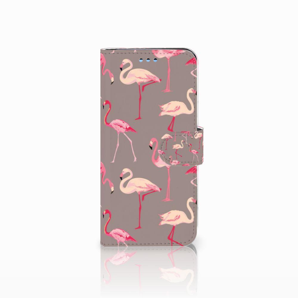 Samsung Galaxy S9 Uniek Boekhoesje Flamingo