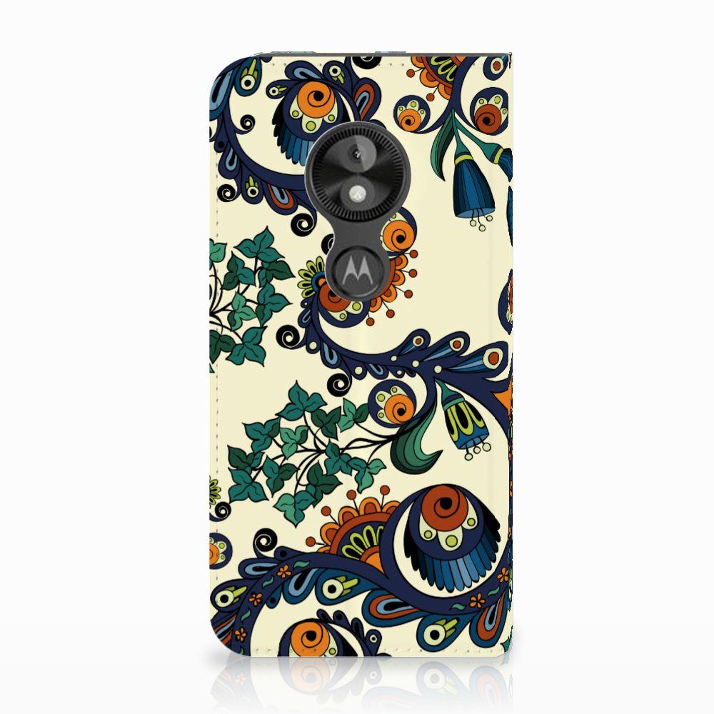 Motorola Moto E5 Play Standcase Hoesje Design Barok Flower