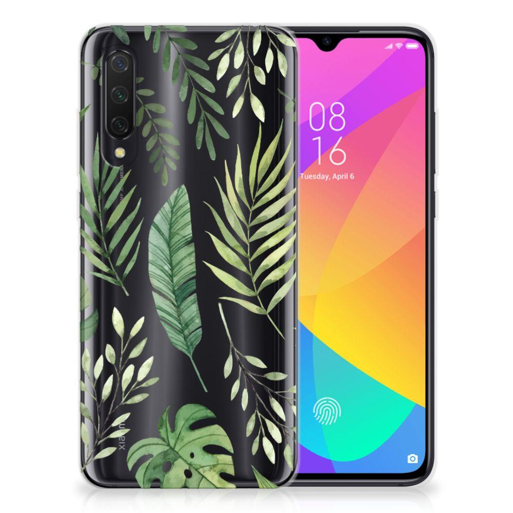 Xiaomi Mi 9 Lite TPU Case Leaves