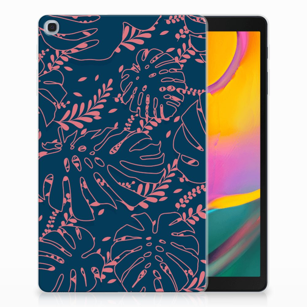 Samsung Galaxy Tab A 10.1 (2019) Tablethoesje Design Palm Leaves