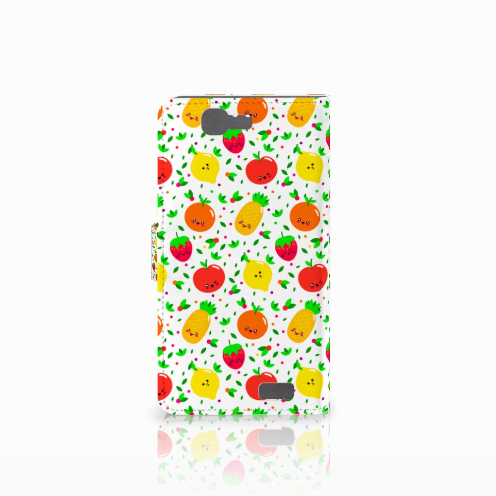 Huawei Ascend G7 Book Cover Fruits