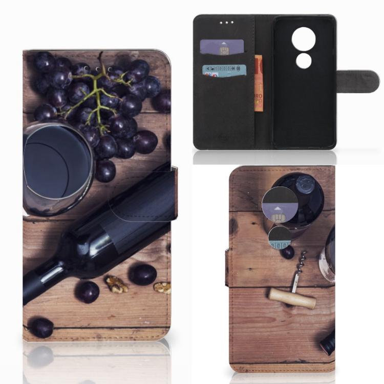 Motorola Moto E5 Play Book Cover Wijn