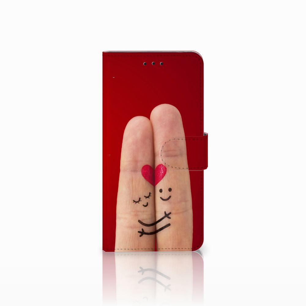 Motorola Moto E5 Uniek Boekhoesje Liefde