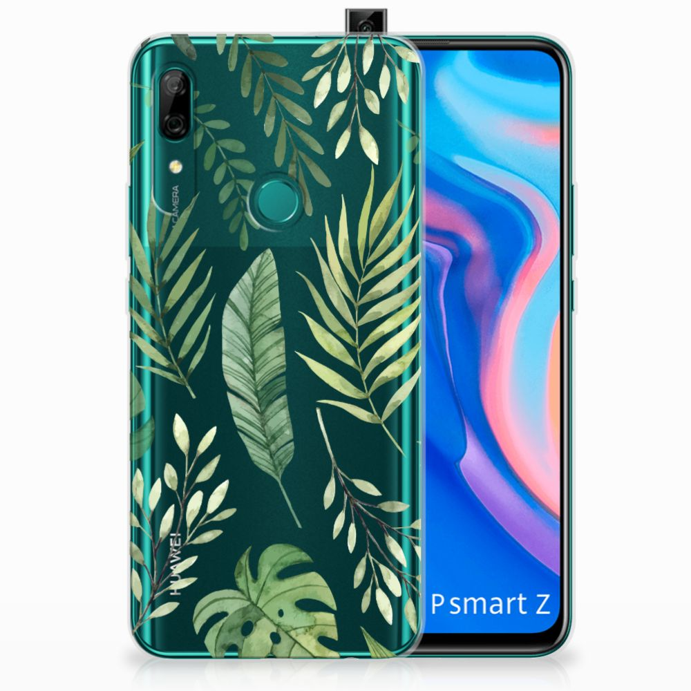 Huawei P Smart Z TPU Case Leaves