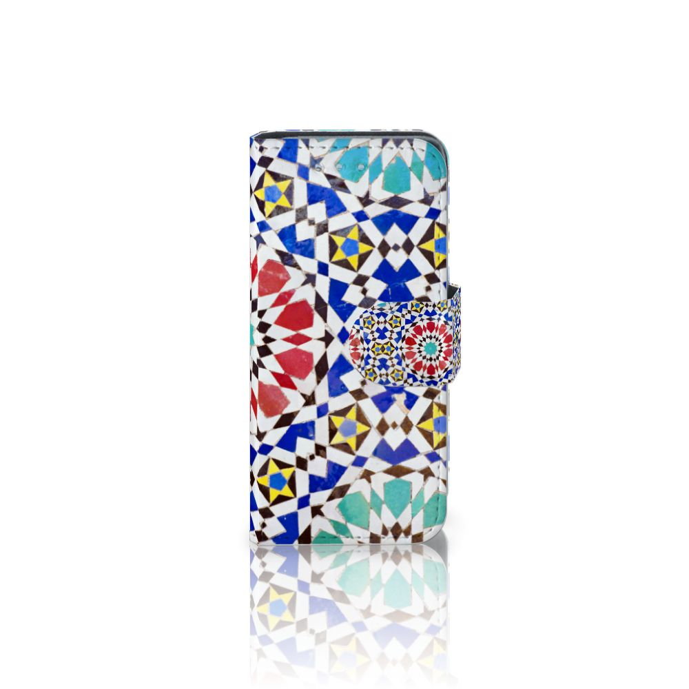 Samsung Galaxy S4 Mini i9190 Boekhoesje Design Mozaïek