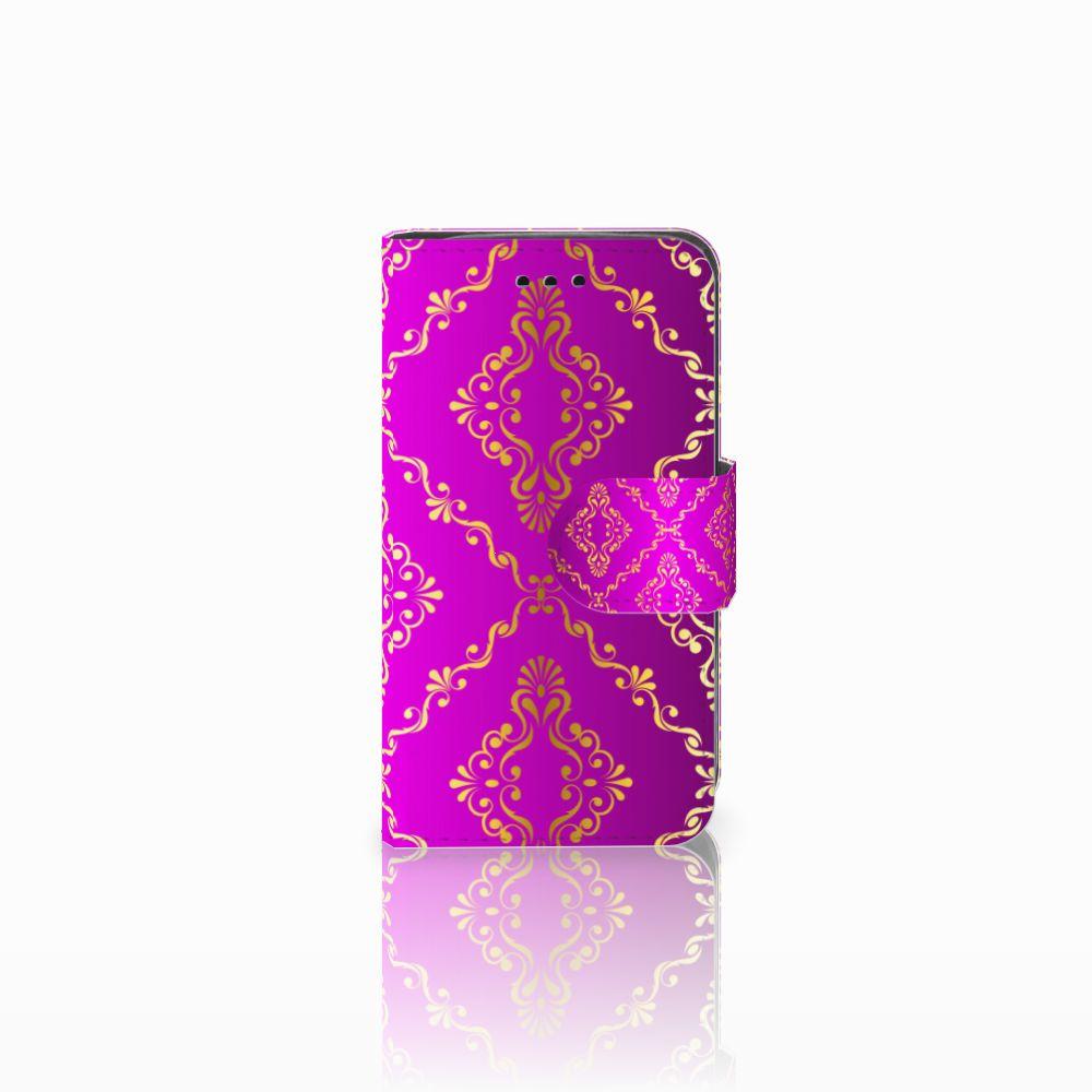 Samsung Galaxy Trend 2 Uniek Boekhoesje Barok Roze