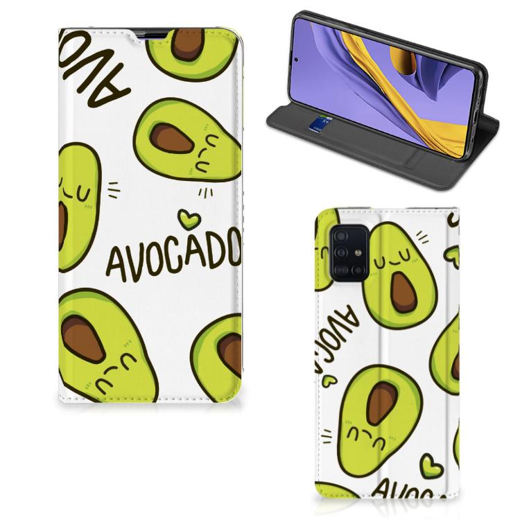 Samsung Galaxy A51 Magnet Case Avocado Singing