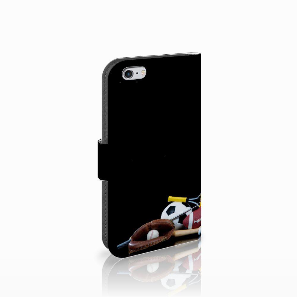 Apple iPhone 6 | 6s Wallet Case met Pasjes Sports