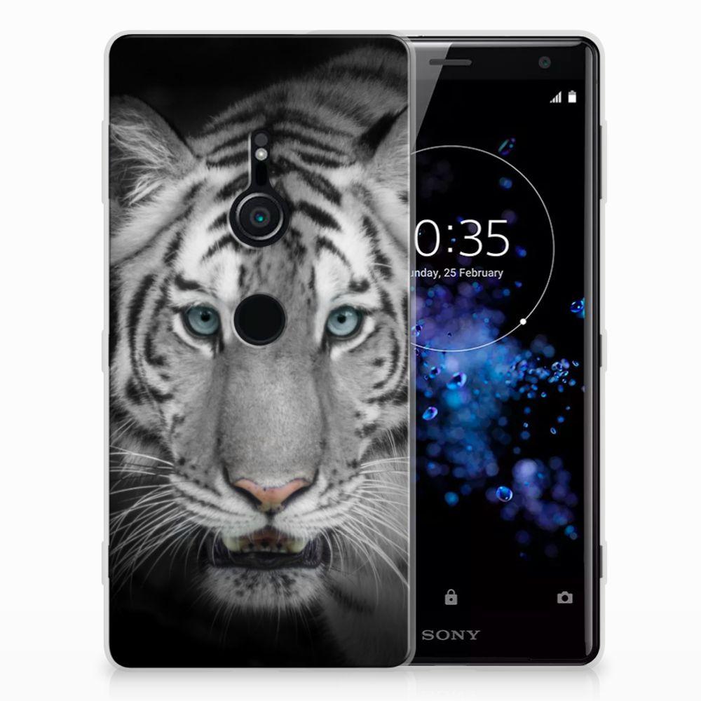 Sony Xperia XZ2 Uniek TPU Hoesje Tijger